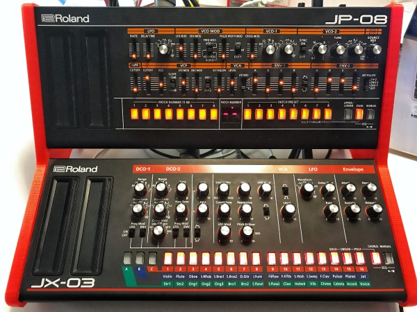 Roland Boutique stand