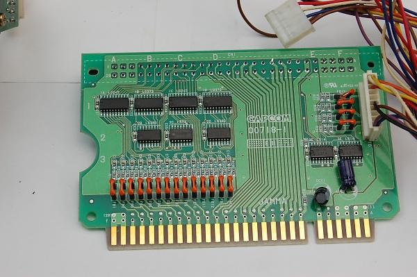 Capcom CPS2 spinner-PCB